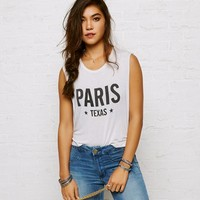 DON'T ASK WHY CROPPED MUSCLE T-SHIRT