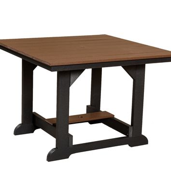 Wildridge Heritage Recycled Plastic 44Inch x 44Inch Table