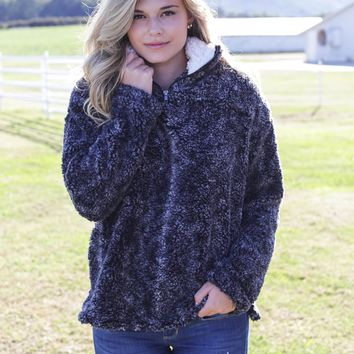 Smoke & Mirrors Pullover, Charcoal