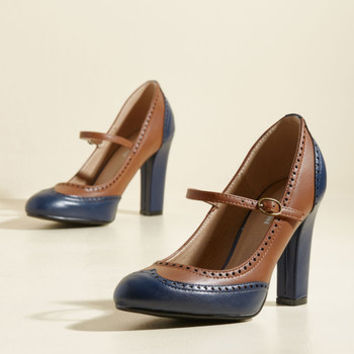 Be the First to Pro Mary Jane Heel | Mod Retro Vintage Heels | ModCloth.com