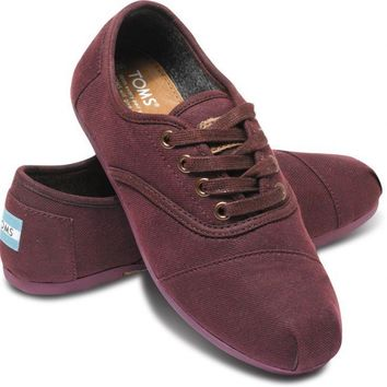 Wine Colton Women's Cordones