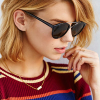 Sport Brow Bar Frame Sunglasses - Urban Outfitters