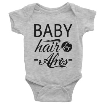 Baby Hair & Afros Onesuit