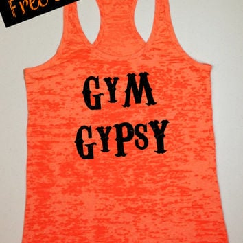 Gym Gypsy. Workout Tank. Southern Girl Tank Top. Running Tank. Southern Country Shirt. Fitness Tank. Southern Clothing. Free USA Shipping