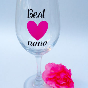 Best Nana // Wine Glass