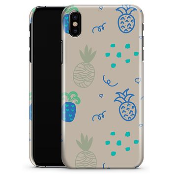 Tropical Summer Love v4 - iPhone X Clipit Case