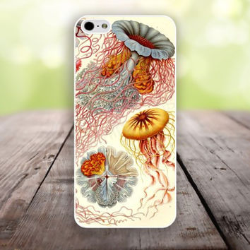 iPhone 5S case Jellyfish Abstract Marine Biology iphone 6 plus,Feather IPhone 4,4s case,color IPhone 6,vivid IPhone 5c,IPhone 5 case Waterproof 796