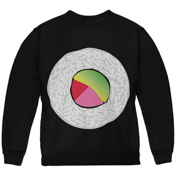 Halloween Sushi Costume 2 Black Youth Sweatshirt