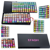 FASH Cosmetics 168 Color Pro Eyeshadow Palette - Matte and Shimmer