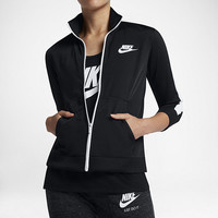 The Nike Sportswear Women's Knit Track Jacket.