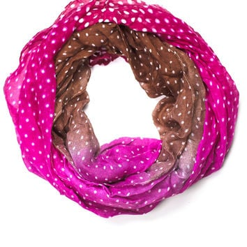 Ombre To My Delight Infinity Scarf