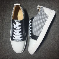 PEAPNW6 Cl Christian Louboutin Low Style #2009 Sneakers Fashion Shoes