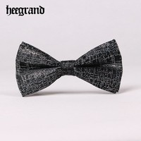 HEE GRAND 2018 Men Fashion Solid Bow tie Prom Wedding Holiday Party Casual Male Suits Cravats Butterfly PLJ037