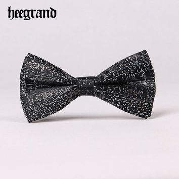 Men Fashion Solid Bow tie Prom Wedding Holiday Party Casual Male Suits Cravats Butterfly
