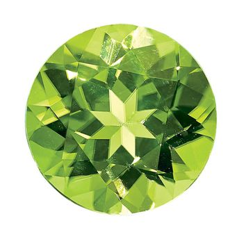 Loose Peridot Gemstone  3mm Round AA Quality