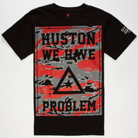 Asphalt Yacht Club Nyjah Huston Problems Mens T-Shirt Black  In Sizes