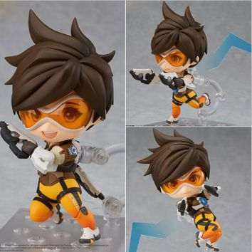 Nendoroid Tracer Lena Oxton PVC Action Figure Collectible Model Toy