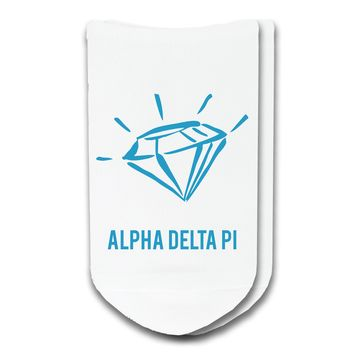 Alpha Delta Pi - Sorority Icon No-Show Socks