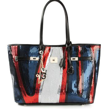 V73 'Cruise Paillettes' tote