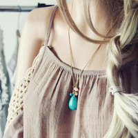 August Rose Necklace