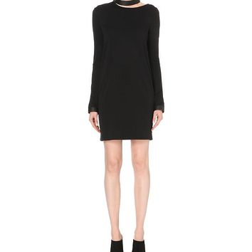 TOM FORD - Cut-out stretch-wool dress | Selfridges.com