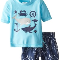 Carter's Baby-Boys Newborn Boy Whale and Friends RG Set