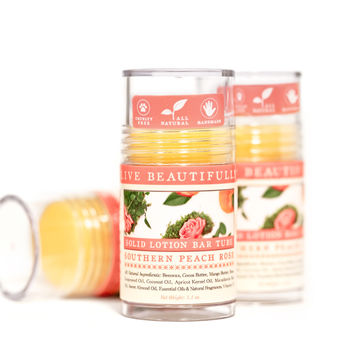 Southern Peach Rose - Lotion Bar