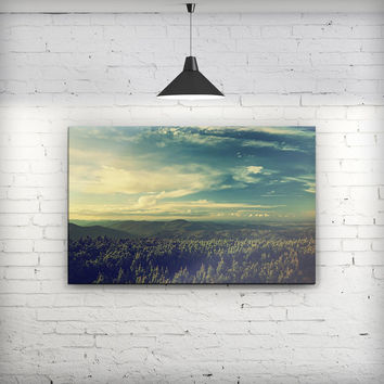 Country Skyline - Fine-Art Wall Canvas Prints