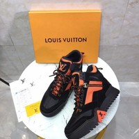 Louis Vuitton Lv Hiking High Top Men Sneaker Reference #10703