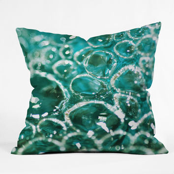 Lisa Argyropoulos Crocodile Tears Outdoor Throw Pillow