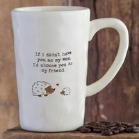 Hedgehog  Mom  Giving  Collection  Mug  From  Natural  Life