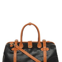 Gotta Run Tan and Black Weekender Bag