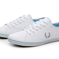Free shipping low canvas  men shoes