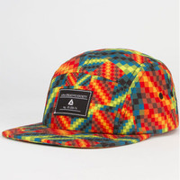 Lira Rubic Mens 5 Panel Hat Orange One Size For Men 23378770001