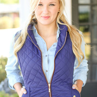 Quilted Riding Vest - Olive from Hazel and Olive | Home : quilted riding vest - Adamdwight.com