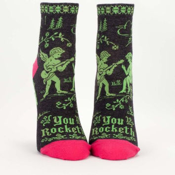 You Rocketh Women's Socks