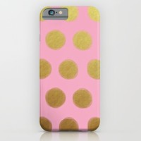 pinky gold; iPhone & iPod Case by Pink Berry Patterns