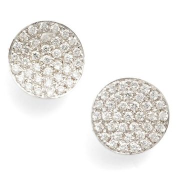 Bony Levy Aurelia Diamond Concave Stud Earrings (Nordstrom Exclusive) | Nordstrom