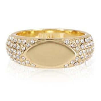 Marquise Signet Ring - Gold