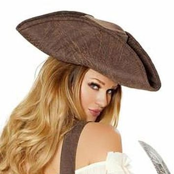 Sexy Sky Pirate Hat Halloween Accessory