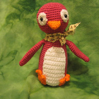 Stuffed Animal/Plush Doll - Pat the Penguin