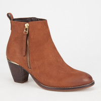 Steve Madden Wantagh Womens Boots Cognac  In Sizes