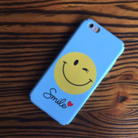 The  New Unique  Smile Face Matte Protective Case For Iphone 6 6s plus