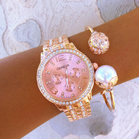 Rosey Pearl Stack
