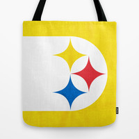 Steel City Tote Bag by Shipwreck Moon Designs