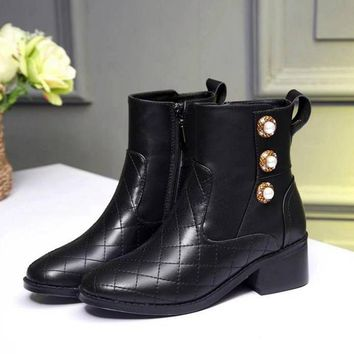 Chanel Women Boots Shoes