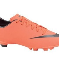 Nike Trainers Shoes Kids Jr Mercurial Victory 3 Fg Coral