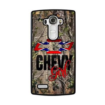 CAMO BROWNING REBEL CHEVY GIRL LG G4 Case Cover