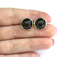 Night Sky Earrings - Bubbles Collection L 12mm