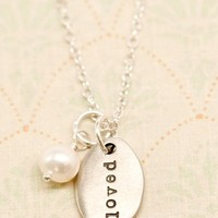 You Are Loved Necklace  | Lisa Leonard Designs